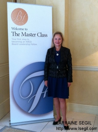 At NACD Master Class in Laguna Beach